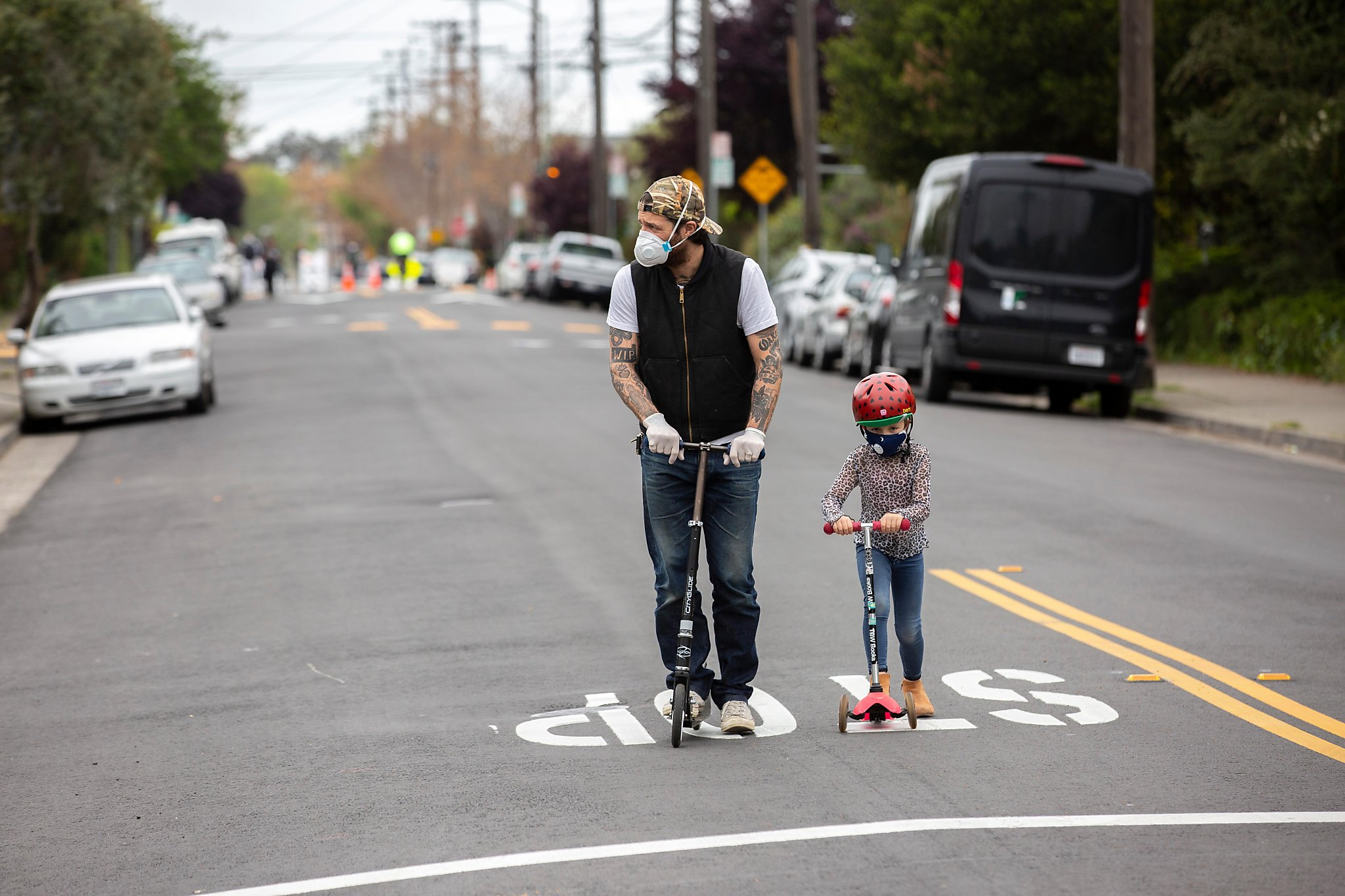 Slow start to Oakland street-closure bid to help people exercise ...