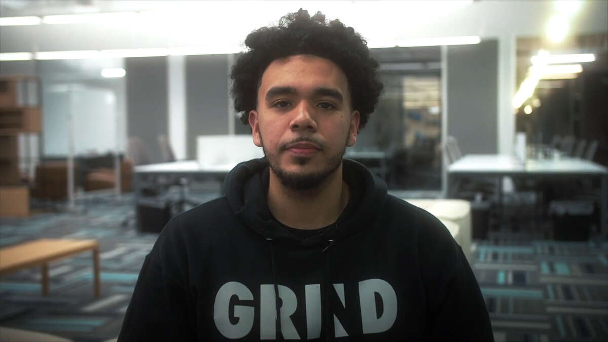 Local entrepreneur Thomas Fields created a revolutionary basketball shooting machine with his company GRIND.