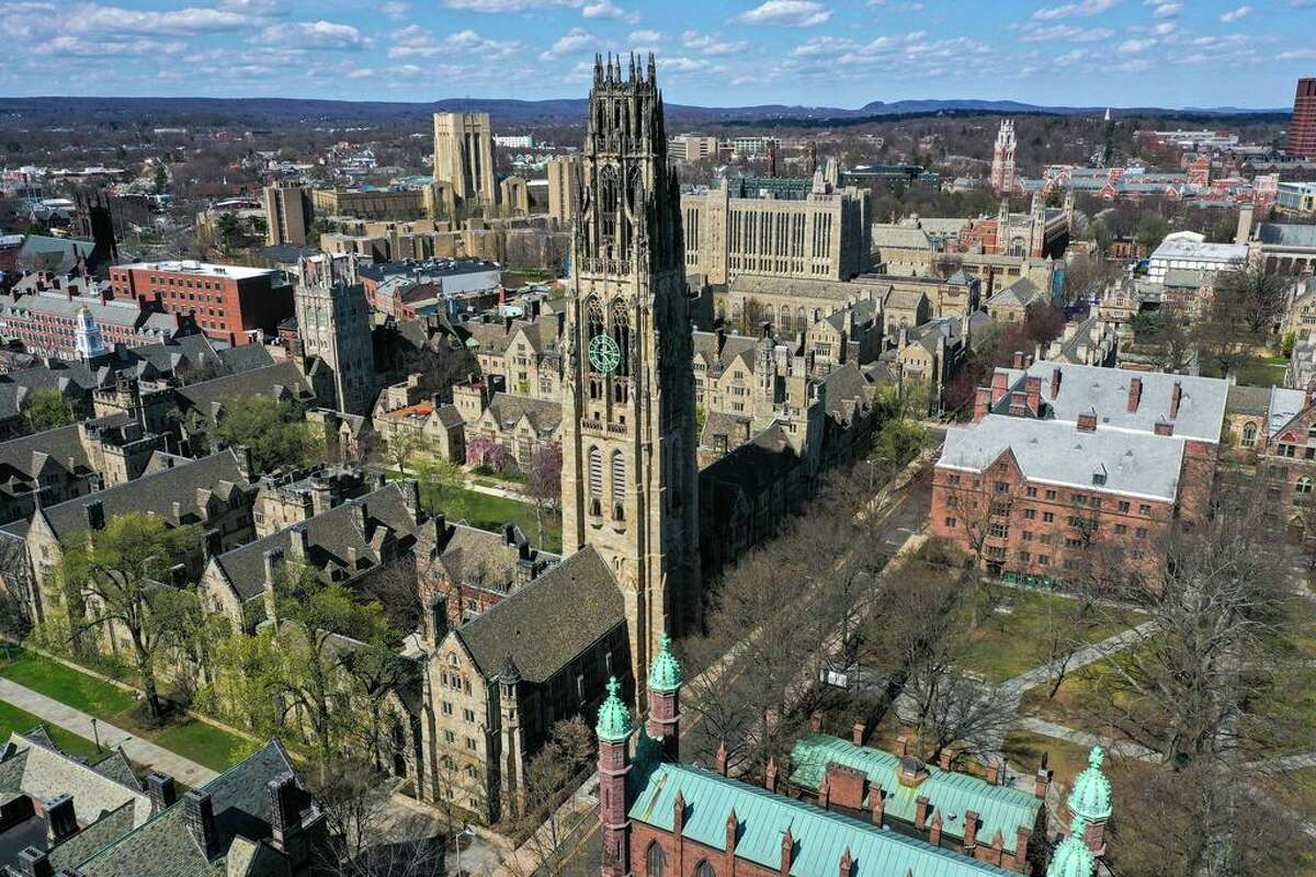 Yale University's campus in New Haven