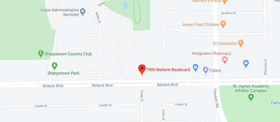 Officers were sent to a home on the 7900 block of Bellaire Boulevard around 4:30 a.m. after receiving reports of an unconscious woman. Photo: Google Maps