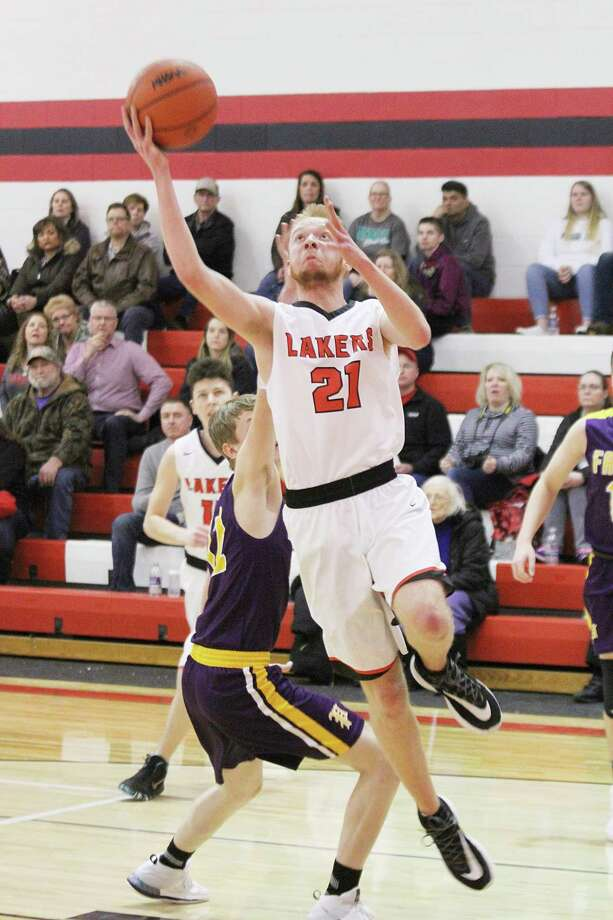 Bear Lake junior Hunter Bentley was an honorable mention on the all-West Michigan D League list this season. (News Advocate file photo)