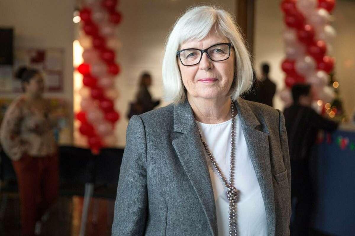 Kathy Black is executive director of La Casa De Las Madres, a San Francisco group that provides services to domestic violence victims.