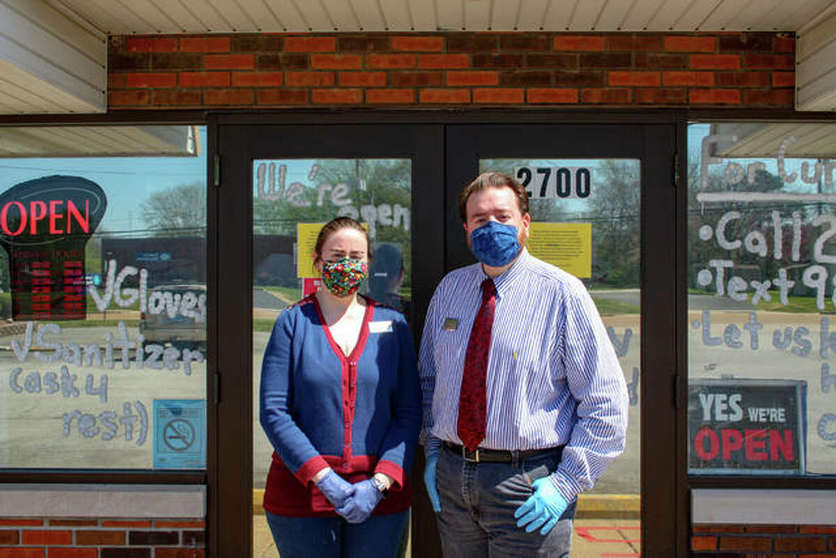 Maryville Pharmacy is open every day except for Sundays. Owners Catherine and Harry Zollars and staff serve customers through delivery, curbside pickup and drive-thru.
