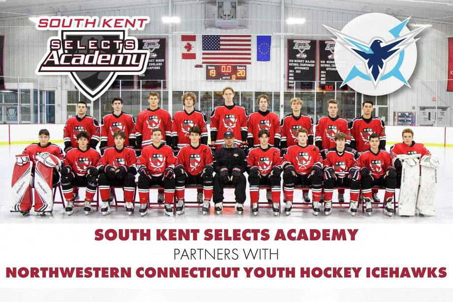 South Kent School and its South Kent Selects Academy (SKSA) program have announced a new partnership with the Northwestern Connecticut Youth Hockey Icehawks. Photo: Contributed