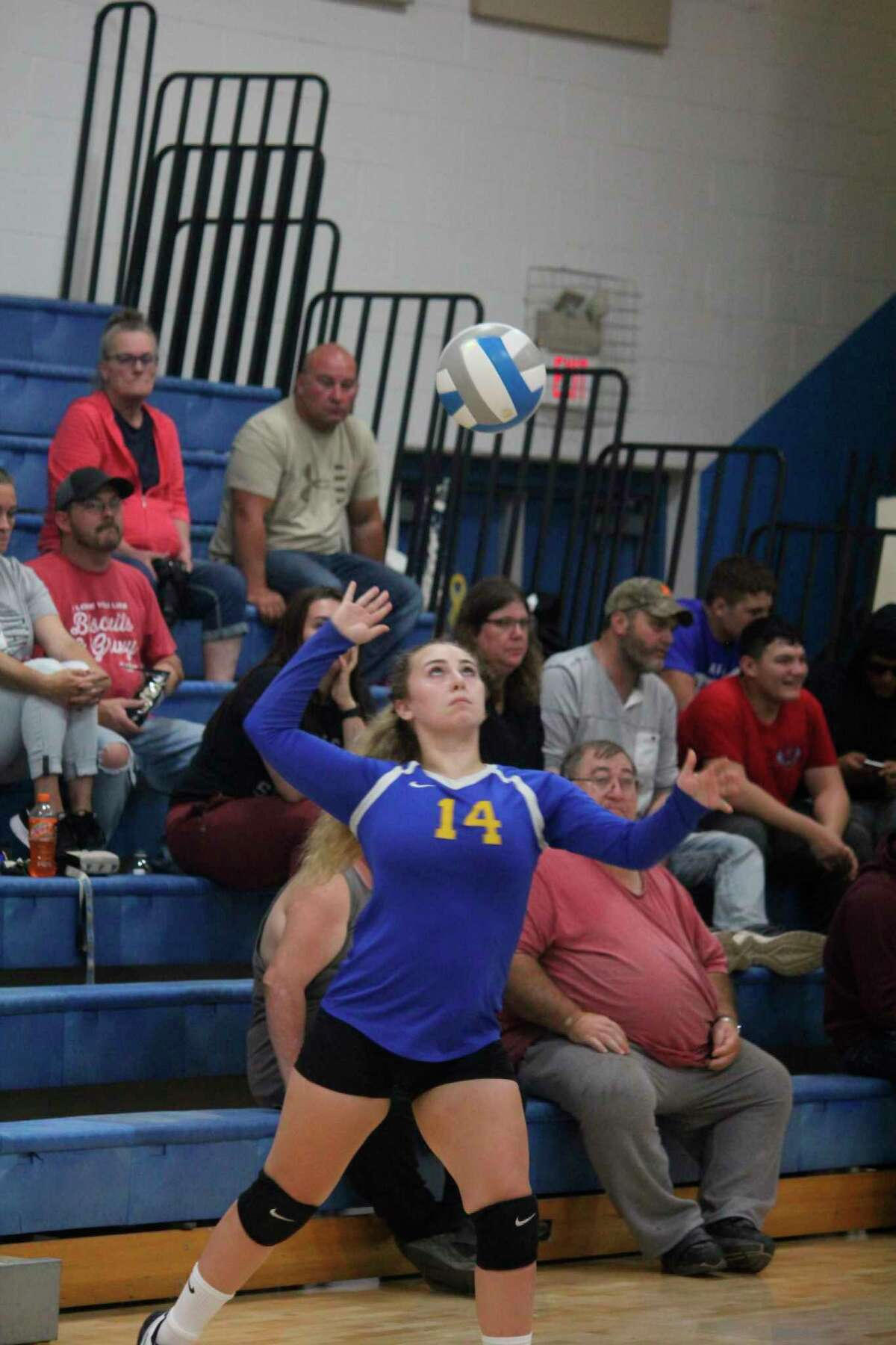 Evart's Livi Hopkins was a standout athlete in volleyball, basketball and track. (Pioneer photo file)