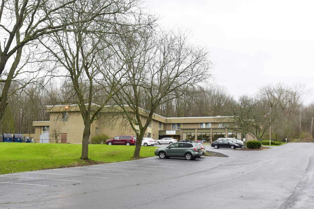 A view of the Diamond Hill Nursing and Rehabilitation center at 100 New Turnpike Rd. on Monday, April 13, 2020, in Troy, N.Y. (Paul Buckowski/Times Union)