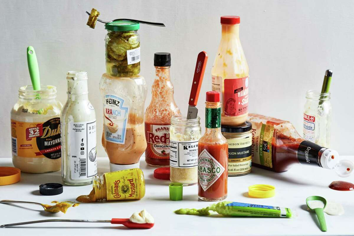 Refrigeration can extend the life and quality (color, flavor, texture) of items that could also be stored in the pantry, such as hot sauce and peanut butter.