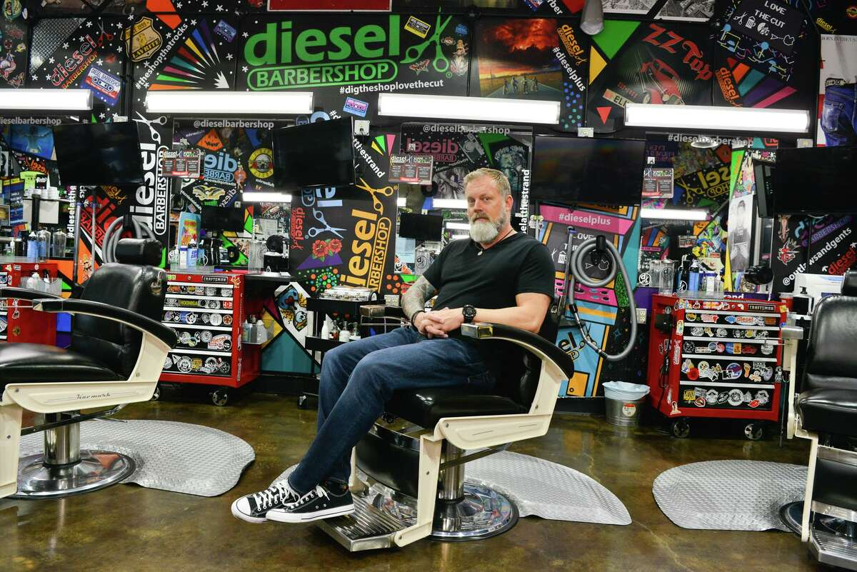 Barbershops owner Shayne Brown said in April that orders by Bexar County Judge Nelson Wolff and Gov. Greg Abbott directing nonessential businesses to close because of the coronavirus had cost his shops a combined $1 million in revenue.