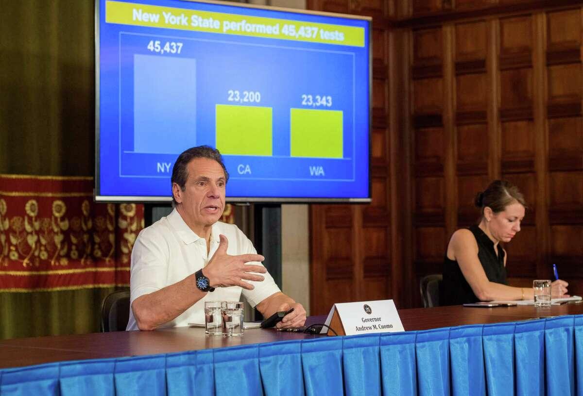 Gov. Andrew Cuomo of New York