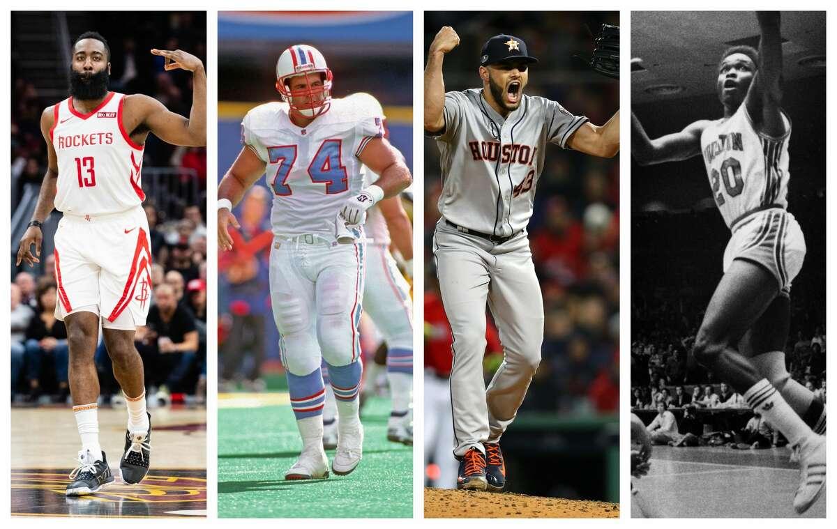 Harden's HouseJames Harden, RocketsBruce Matthews, OilersLance McCullers, AstrosRob Williams, University of Houston