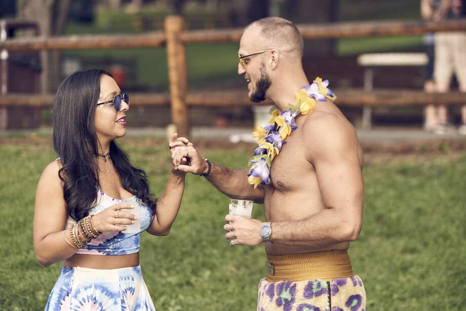 "A scene from Bravo's new show ""Camp Getaway"" set in Kent, Conn. Photo: Karolina Wojtasik / Bravo TV, Camp Getaway, Kent, Bravi / 2019 Bravo Media, LLC"