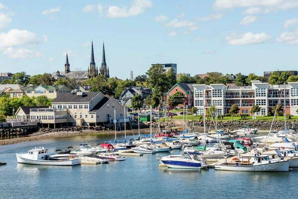 "#69. Prince Edward Island - Average hourly wage: $15.20 (28.5% below national average) - Change in wage since Q3 2015: +8.6% - Population: 156,947 Perhaps best known for ""Anne of Green Gables,"" Prince Edward Island is also home to three major industries: agriculture, fisheries, and tourism. Outside of these traditional sectors, aerospace and bioscience are two of the eastern Canadian island's fastest-growing job markets. Overall, employment in the region grew by 2.6% in 2019. This slideshow was first published on Stacker"