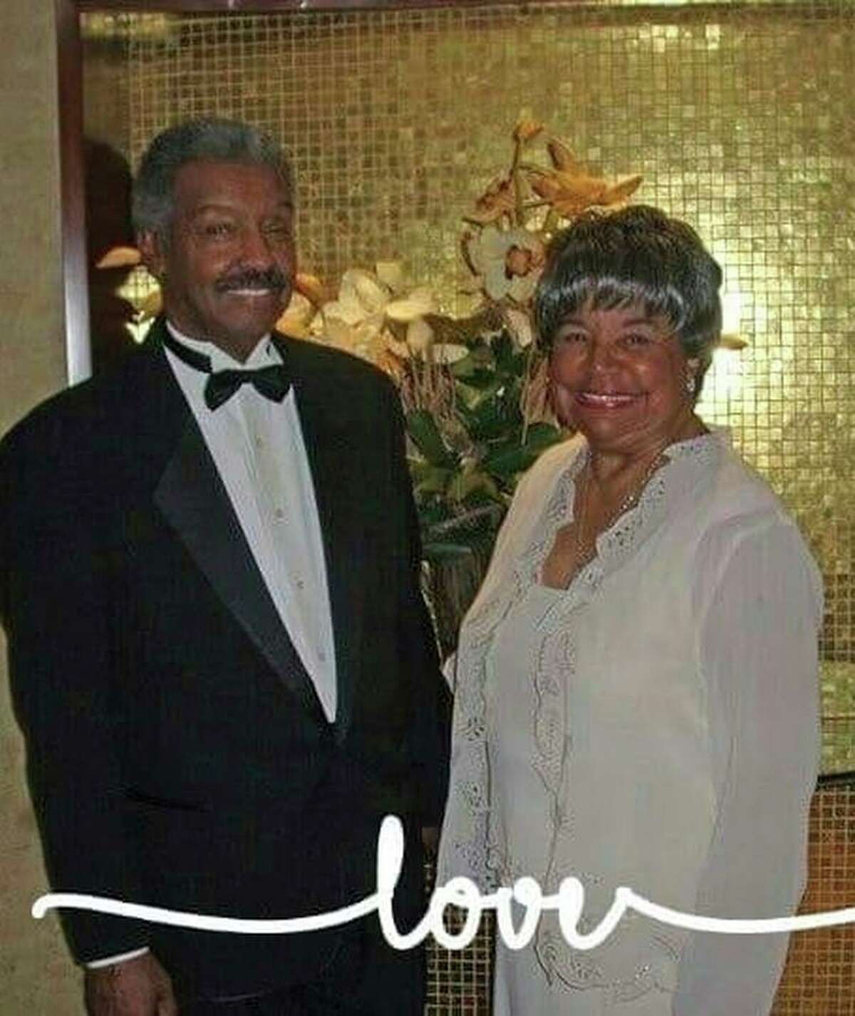 Costell Akrie, seen in this undated photo with his wife, Diane, died at the Hayward nursing facility.
