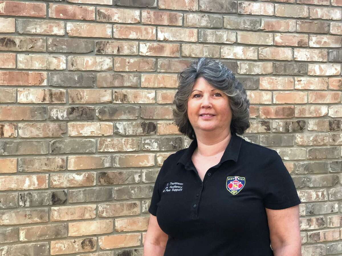 Denise Thompson, resiliency and peer dupport counselor, has virtual conferences to help first responders handle stress.