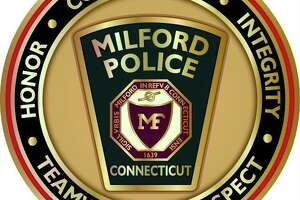 A logo for the Milford Police Department.
