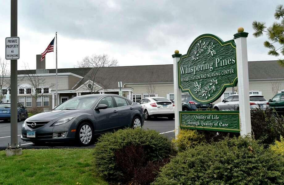 Whispering Pines Nursing Rehabilitation and Nursing Center in East Haven. Photo: Peter Hvizdak / Hearst Connecticut Media / New Haven Register