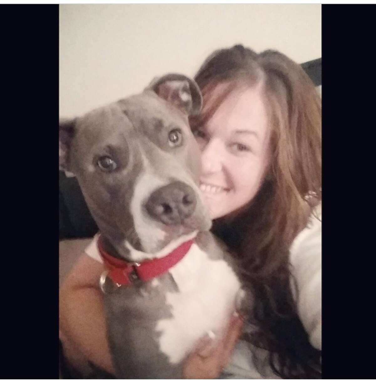 Amanda and her dog Prince live at the Van Allen Apartments.