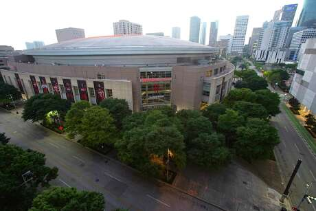 """Toyota Center and George R. Brown convention center have been considered as possible spots for NBA's return in a """"campus"""" concept."""
