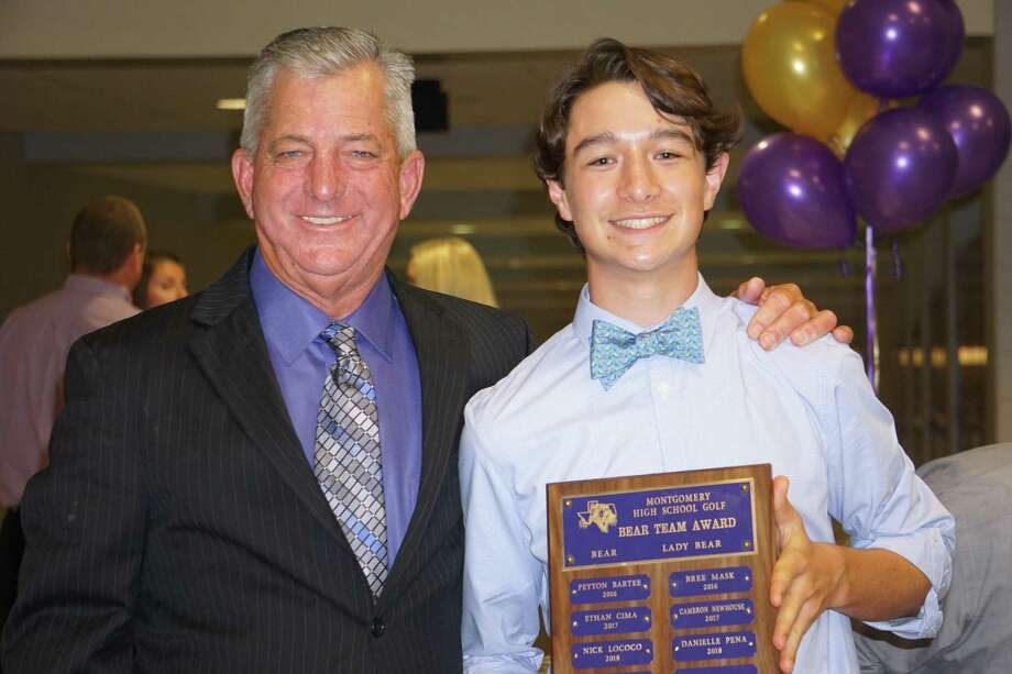 Montgomery golfer Nick Lococo (right). Photo: Submitted Photo