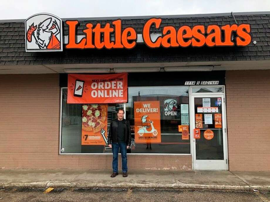 Charles Trapaniof Midland owns the twoLittle Caesars Pizza locations in Midland,with his brother. (Photo provided/Charles Trapani)