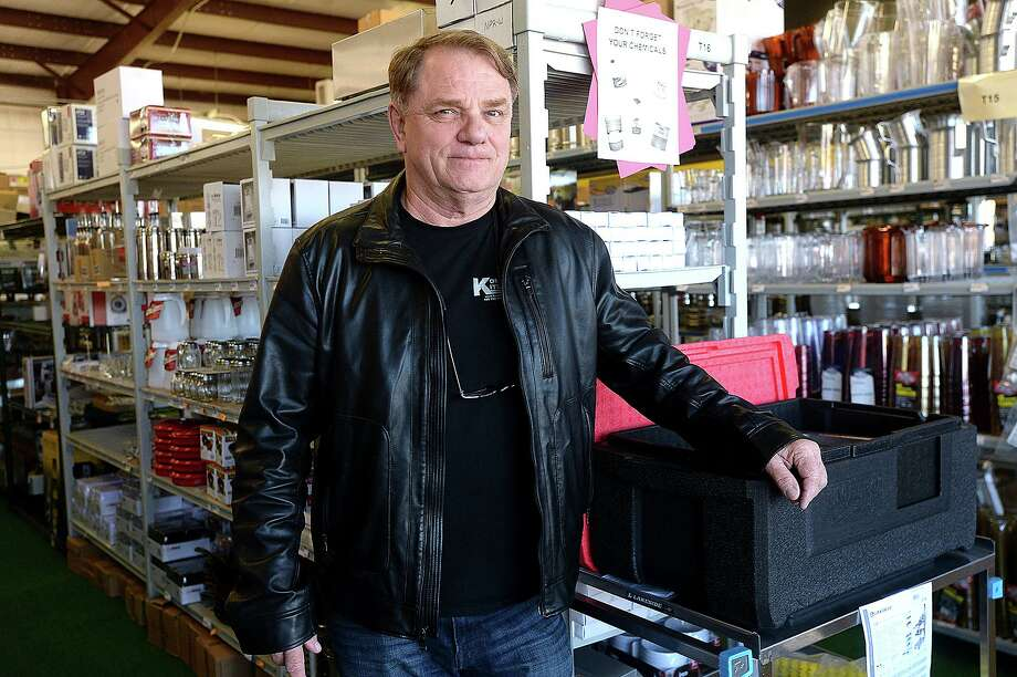 Terry Woodard, owner of Kommerical Kitchens in Vidor, plans to build a new location in Beaumont. The original site in Rose City was flooded during Harvey, and Woodard temporarily relocated to another strip mall property he owned east of Vidor.   Photo taken Wednesday, January 9, 2019  Photo by Kim Brent/The Enterprise Photo: Kim Brent / The Enterprise / BEN