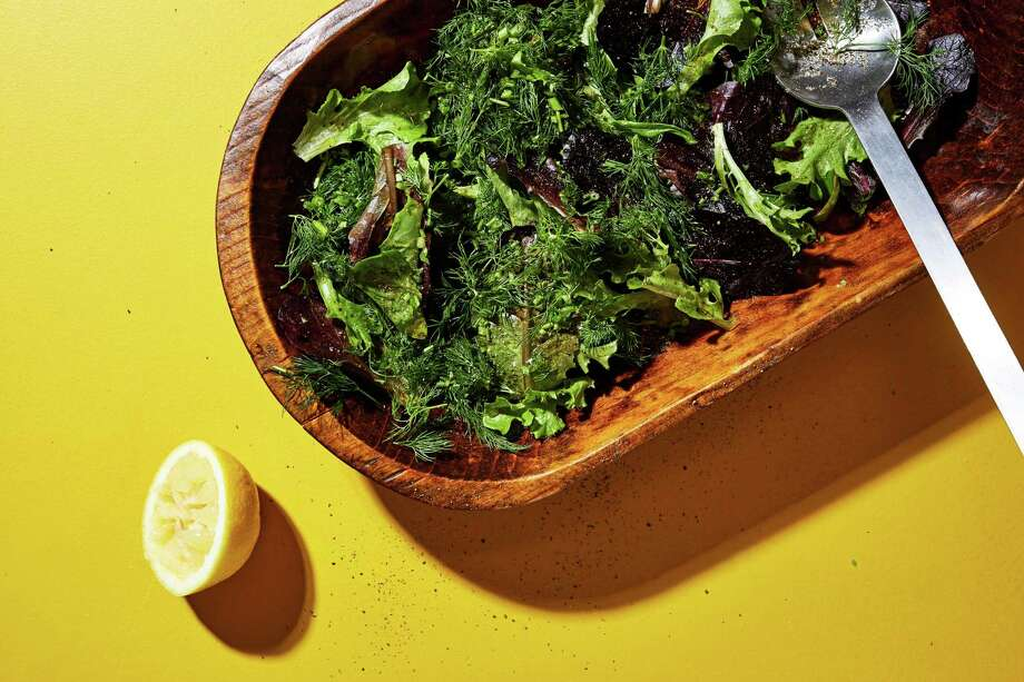Herbs and Their Stems Salad Photo: Stacy Zarin Goldberg, For The Washingtin Post / For The Washington Post / For The Washington Post