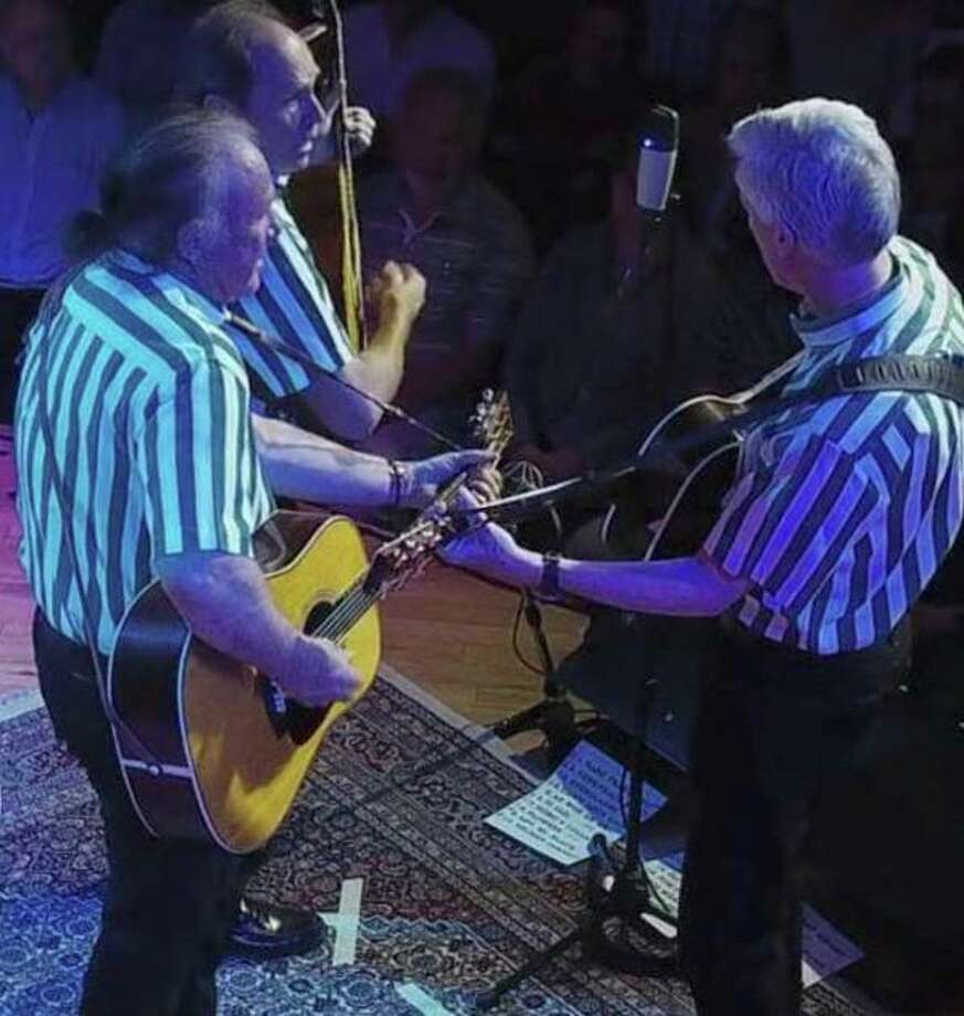 The Kingston Trio's Legacy Tour is at the Danbury Palace Saturday, June 20. Photo: Danbury Palacer / Contributed Photo
