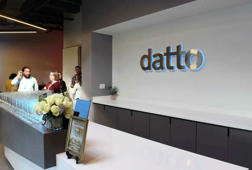 Datto hosts its new company launch on Thursday, April 4, 2019 in East Greenbush, NY. (Phoebe Sheehan/Times Union)