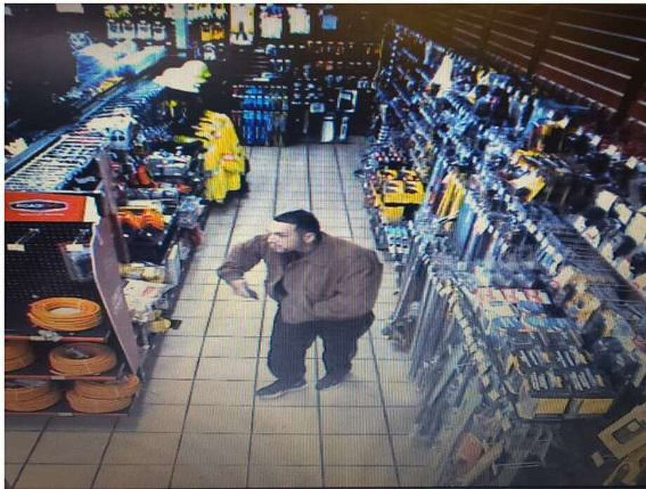 The Laredo Police Department is seeking this man who is being sought for allegedly stealing $1,200 worth of merchandise in a store. Photo: Courtesy Of The Laredo Police Department