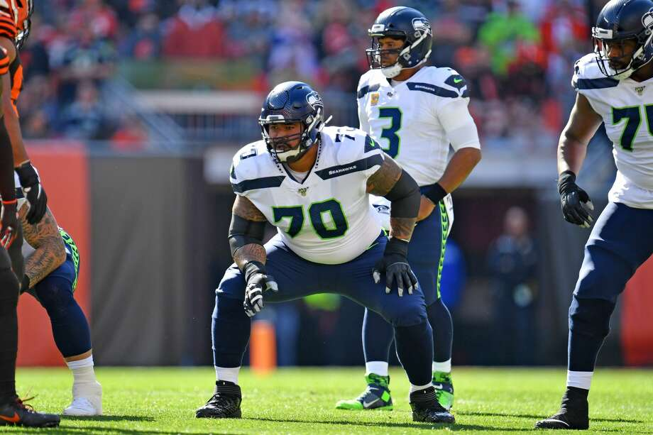 The Seahawks have come to terms on a one-year extension with left guard Mike Iupati, according to multiple reports Tuesday. Photo: Jason Miller/Getty Images / 2019 Jason Miller