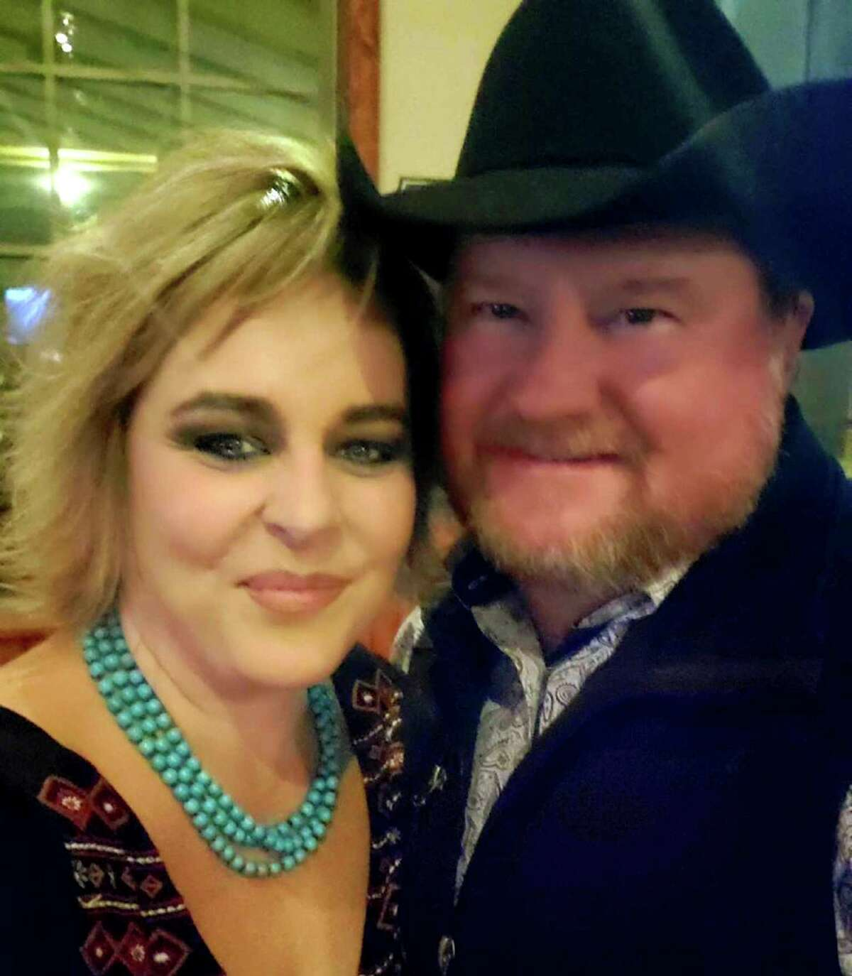 Jimmie Hayden was the first COVID-19 patient to receive plasma therapy in San Antonio. He is pictured with his wife, Ashley Hayden.