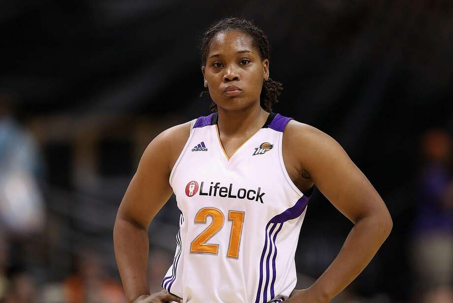 Alexis Gray-Lawson is shown with the Phoenix Mercury during a WNBA game against the Chicago Sky on July 1, 2011, in Phoenix, Arizona. Photo: Christian Petersen/Getty Images 2011
