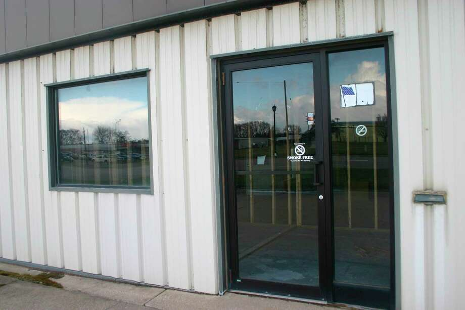 NBB holdings, LLC has begun renovation of the former Star Truck Rental facility at 901 West 7th St., in Evart. The company plans to establish a medical marijuana processing and provisioning center at the site, whichthey plan to haveoperational by the end of the year. (Herald Review photo/Cathie Crew)