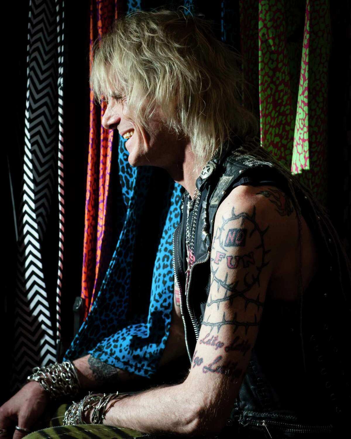 Jimmy Webb, the manager and buyer at Trash and Vaudeville, in New York, April 30, 2013. Trash and Vaudeville, around since 1975, remains a fixture in a very different East Village. (Deidre Schoo/The New York Times)