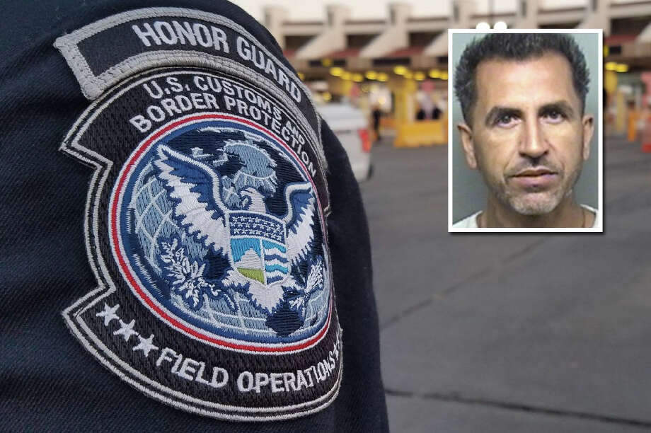 A man threatened to kill a U.S. Customs and Border Protection officer after the officer told him he could not use his cellphone in the primary inspection area of the Gateway to the Americas International Bridge, according to Homeland Security Investigations. Photo: Courtesy Photo