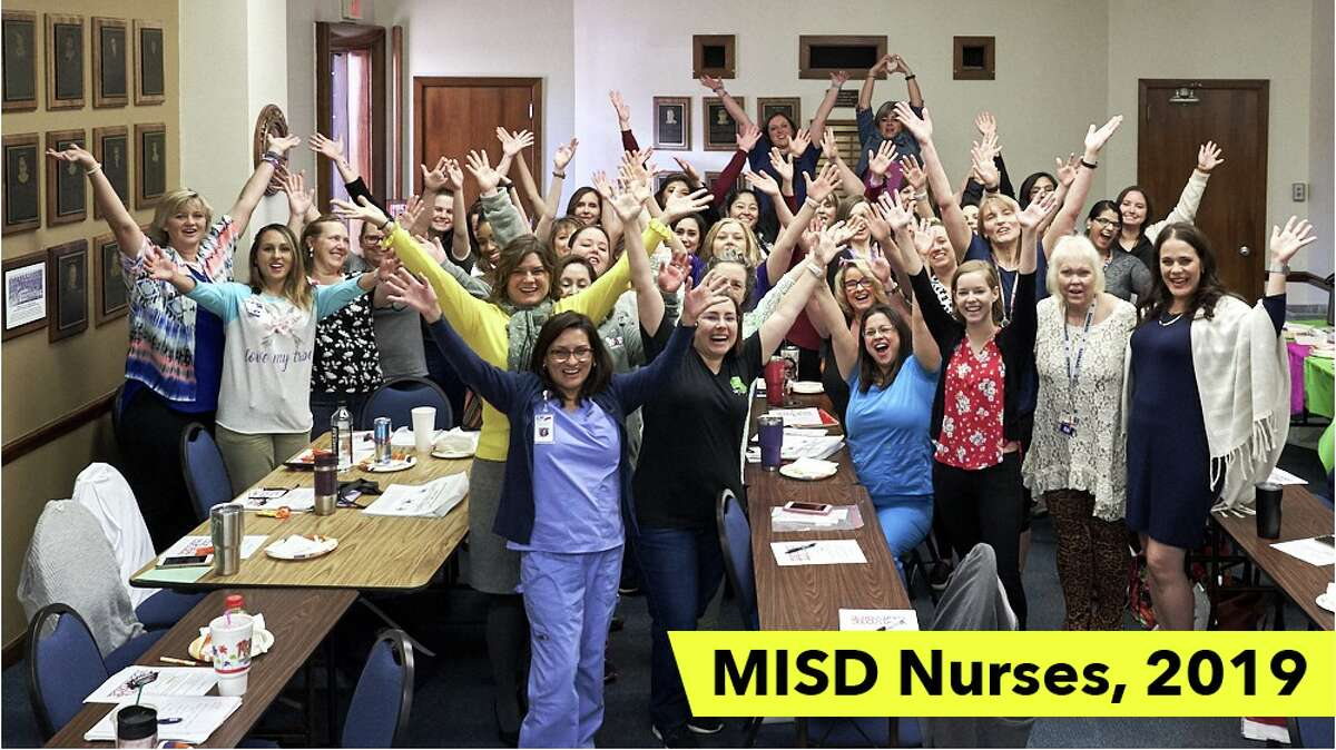Midland ISD's 2019 nursing staff.