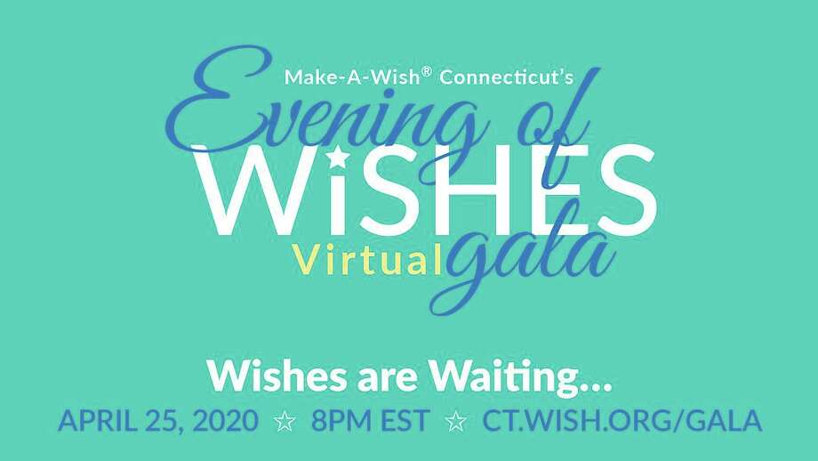 Make-A-Wish Connecticut's first-ever Virtual Evening of Wishes Gala will be held Saturday, April 25, at 8 p.m. on Facebook and YouTube. Photo: Contributed Photo