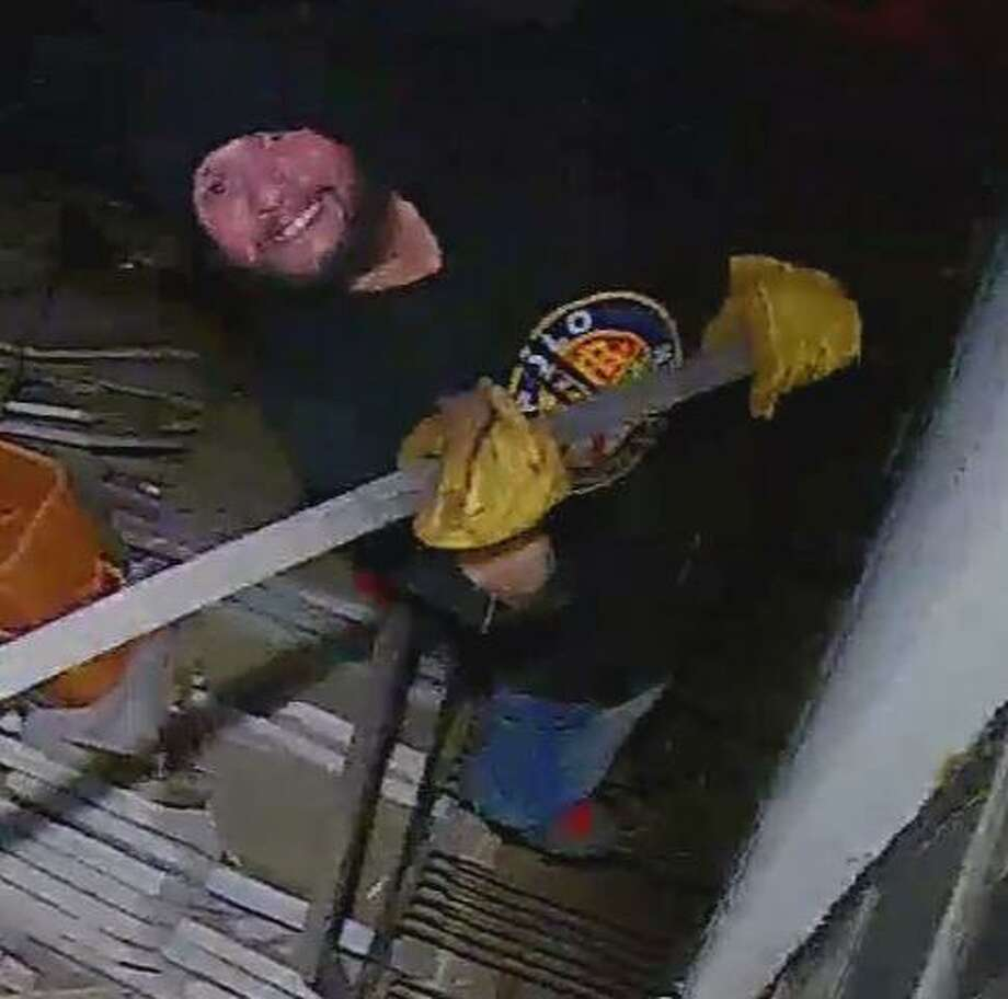 Norwalk detectives are requesting assistance from the public in identifying a larceny suspect, who stole $8,000 to $9,000 in construction equipment out of a locked storage container. Photo: Sura, John