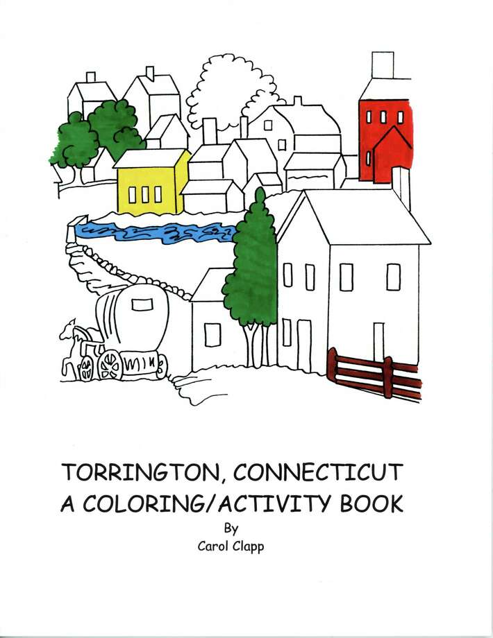 The Torrington HIstorical Society has added some activities to its website, including a coloring book. Photo: Torrington Historical Society / Contributed Photo
