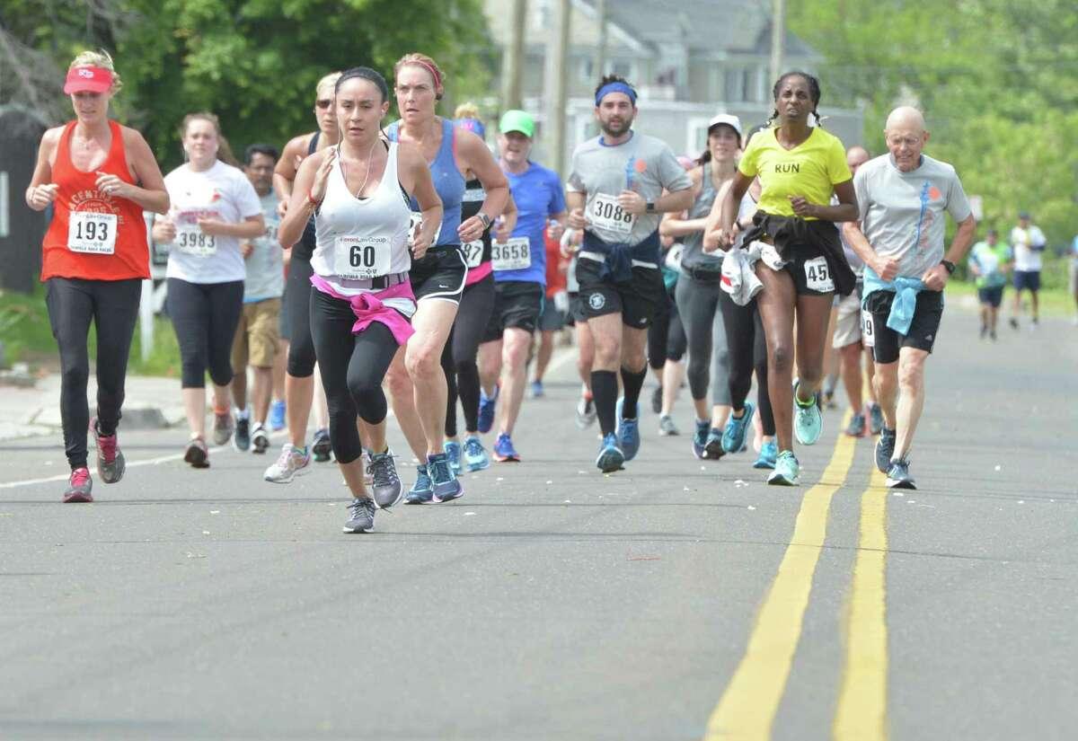 The Faxon Law Group Fairfield half marathon on Sunday June 3, 2018 in Fairfield Conn.