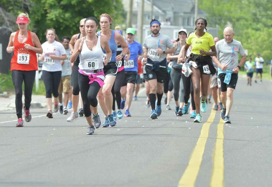 The Faxon Law Group Fairfield half marathon on Sunday June 3, 2018 in Fairfield Conn. Photo: Alex Von Kleydorff / Hearst Connecticut Media / Norwalk Hour