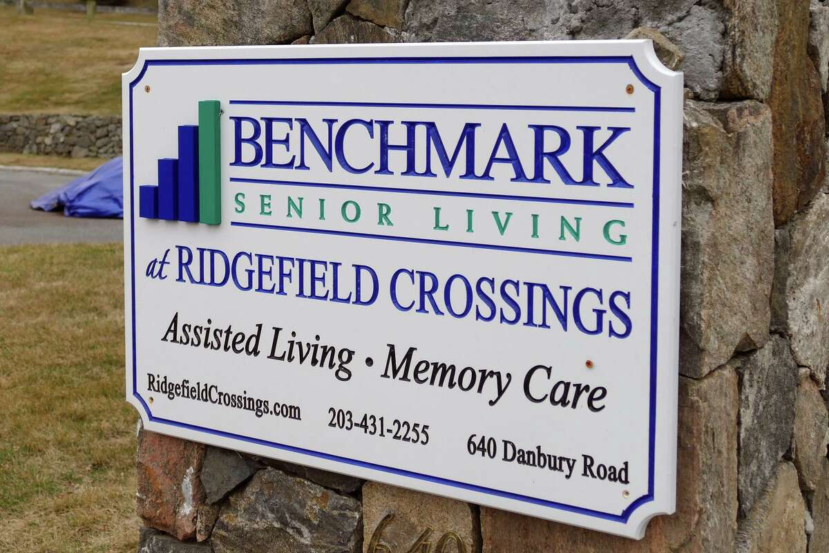 Benchmark Senior Living at Ridgefield Crossing, on Route 7, in Ridgefield, Conn. March 19, 2020. An 88-year-old former resident of the facility became the state's first COVID-19 fatality. He died Wednesday morning at Danbury Hospital.