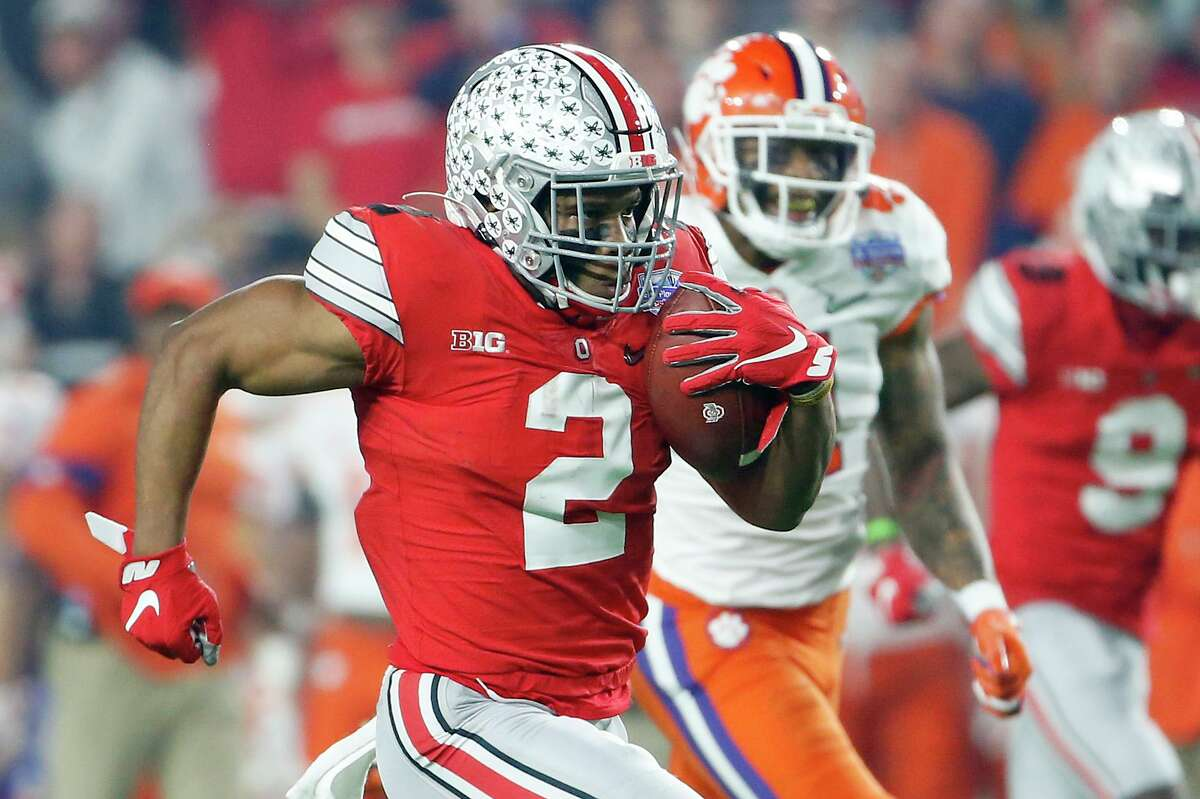 Ohio State's J.K. Dobbins may not be a first-round pick given NFL teams recently devaluing running backs, but the La Grange native brings a history of production to the franchise that selects him.