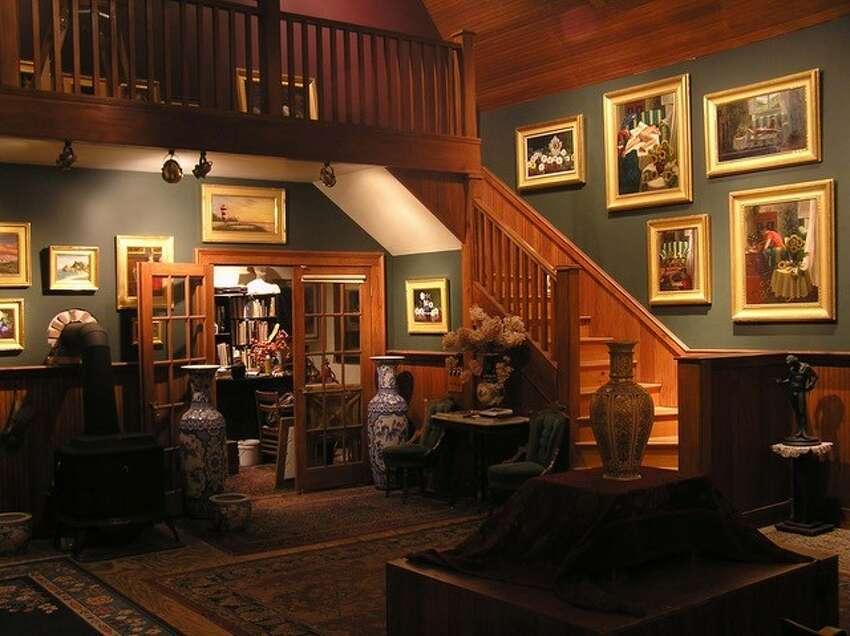 Christopher Pierce's studio space.