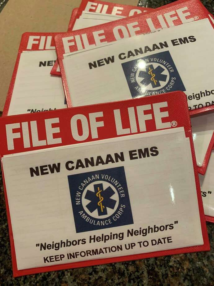 The File of Life, which is a simple document, provides a single place to record important medical information for use during an emergency. Barbara Achenbaum, who is the executive director of the nonprofit organization Staying Put in New Canaan, writes about communication being key in such an event where the File becomes extremely handy, and National Healthcare Decisions Day, in this column. National Healthcare Decisions Day is on Thursday, April 16, 2020. Photo: Staying Put In New Canaan / Contributed Photo / New Canaan Advertiser Contributed