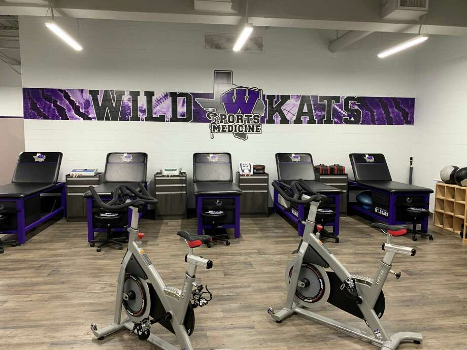 A view of the state-of-the-art athletic training room at Willis High School. Photo: Submitted Photo