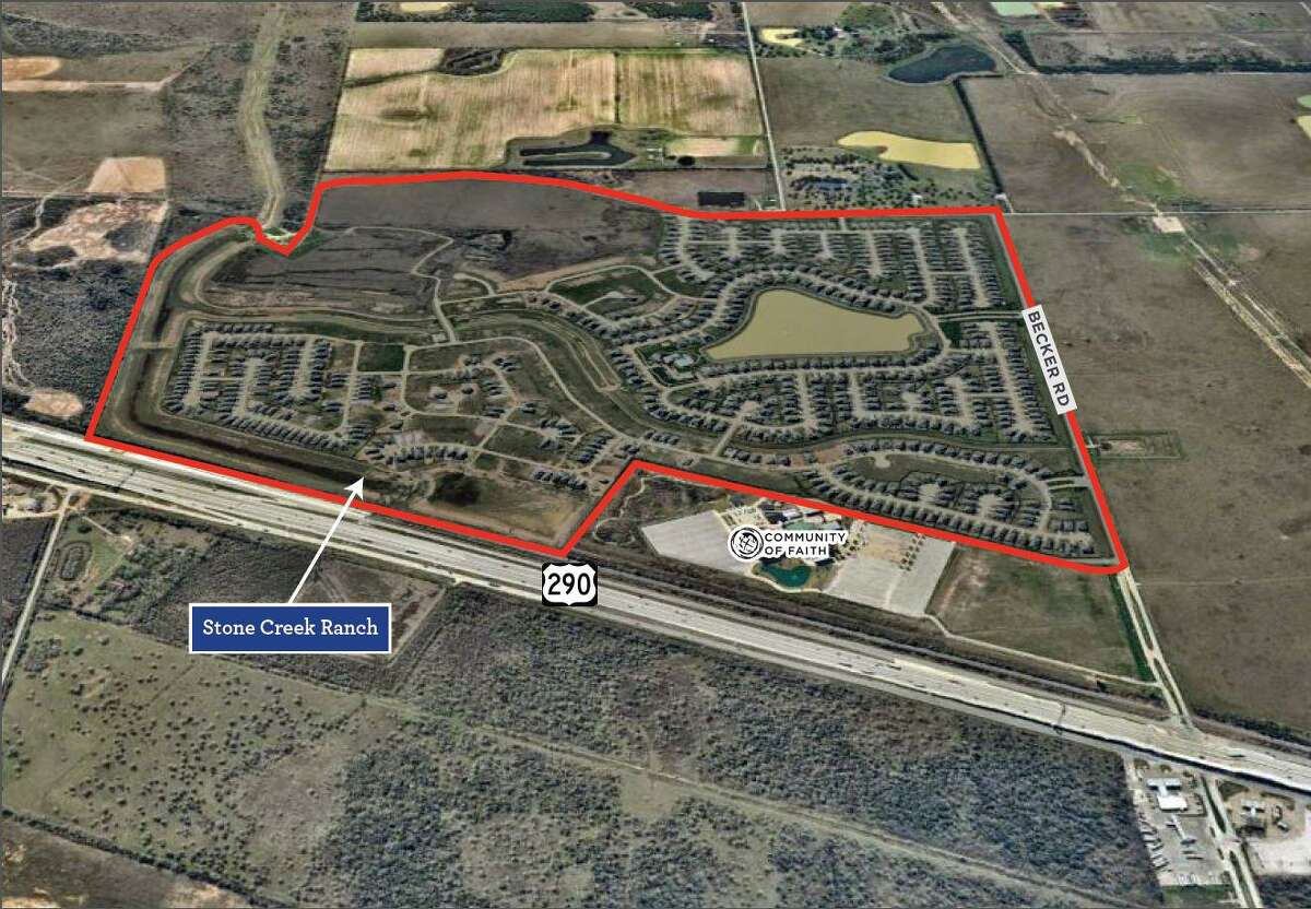 D.R. Horton reached a deal to acquire the remaining 123 vacant developed lots in the Stone Creek Ranch community near U.S. 290 and Becker Road in Hockley.