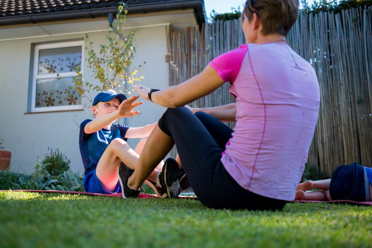Whether you have an expansive backyard or are relying on your apartment balcony, there are many different outdoor workouts to take advantage of during the at-home quarantine.