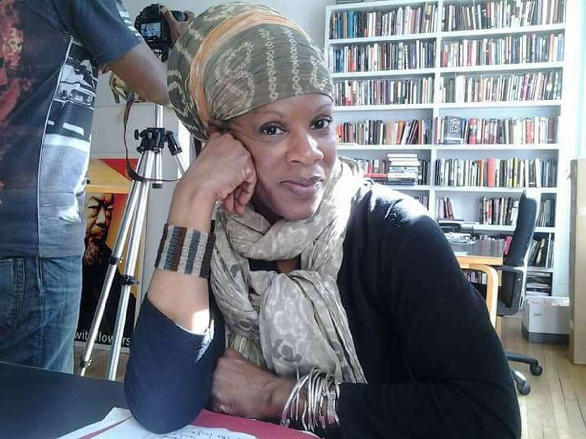 Christine Lewis, poet and organizer (image courtesy Christine Lewis)