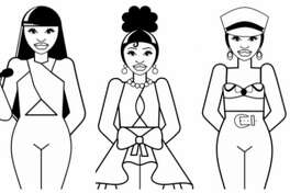 Selena coloring pages.
